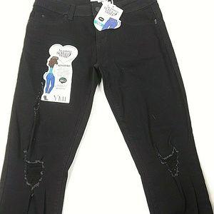 """Wanna Betta Butt YMI Size 11 Jeans ANKLE 27"""" Insea"""